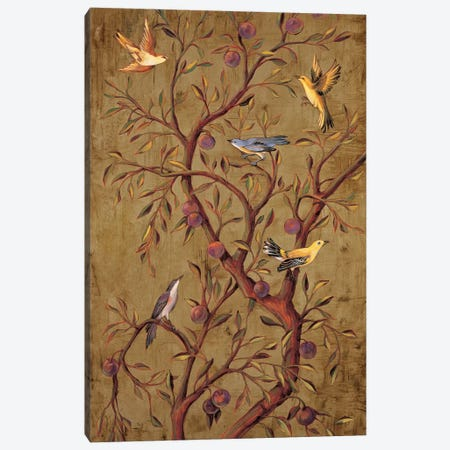 Plum Tree Panel I Canvas Print #JIM11} by Rodolfo Jimenez Canvas Art