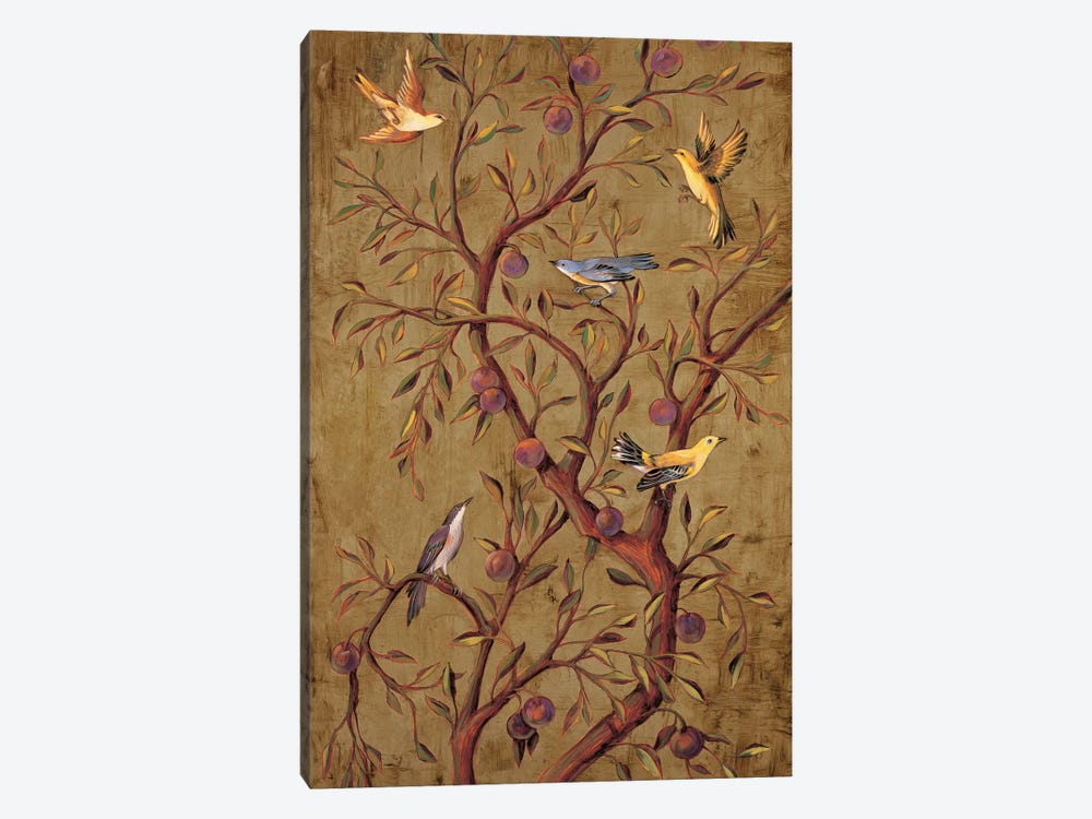 Plum Tree Panel I by Rodolfo Jimenez 1-piece Art Print