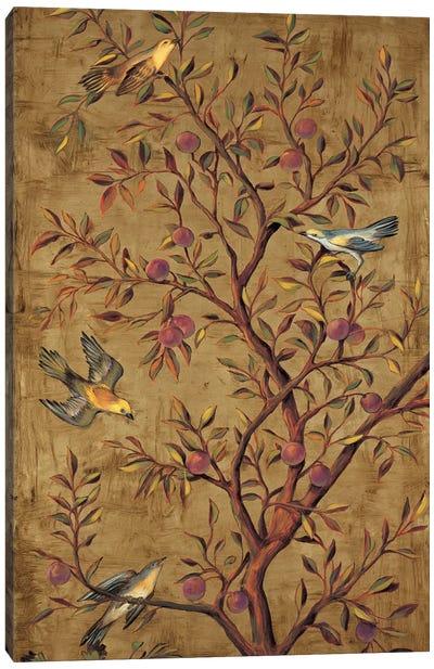 Plum Tree Panel II Canvas Art Print