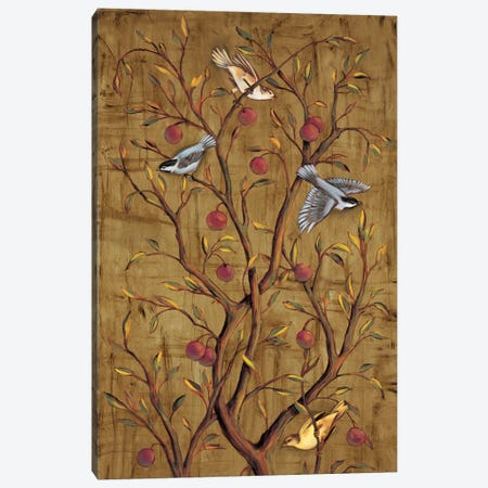 Plum Tree Panel III Canvas Print #JIM13} by Rodolfo Jimenez Canvas Artwork