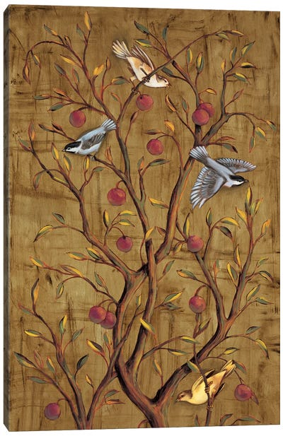 Plum Tree Panel III Canvas Art Print