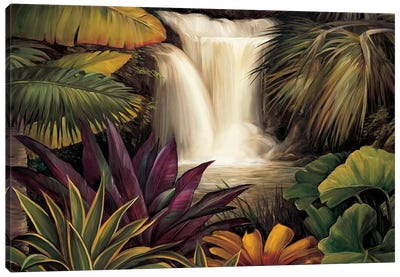 Sacred Pool II Canvas Art Print