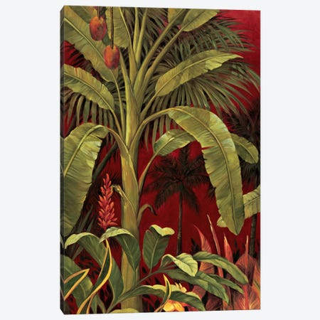 Bali Garden I Canvas Print #JIM1} by Rodolfo Jimenez Art Print