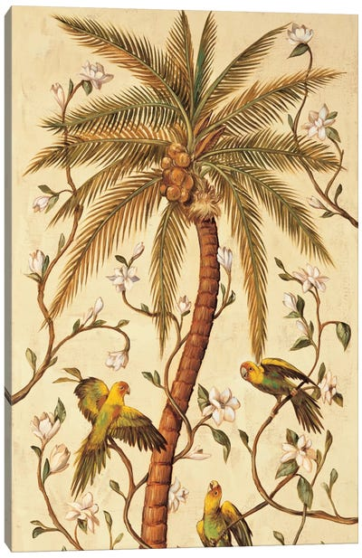 Tropical Panel I Canvas Art Print