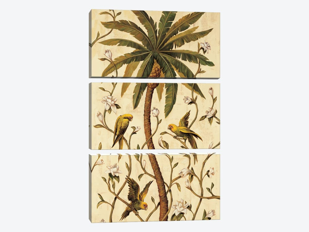 Tropical Panel II 3-piece Canvas Artwork