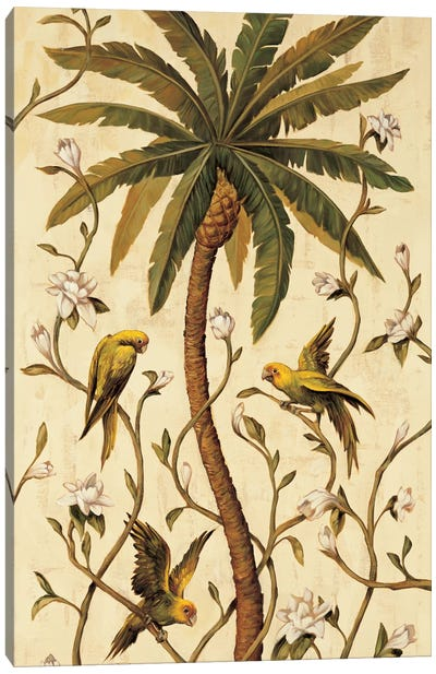 Tropical Panel II Canvas Art Print
