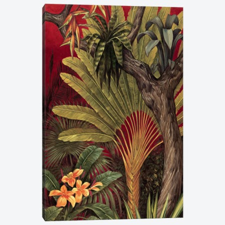 Bali Garden II Canvas Print #JIM2} by Rodolfo Jimenez Canvas Print