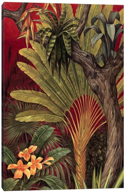 Bali Garden II Canvas Art Print