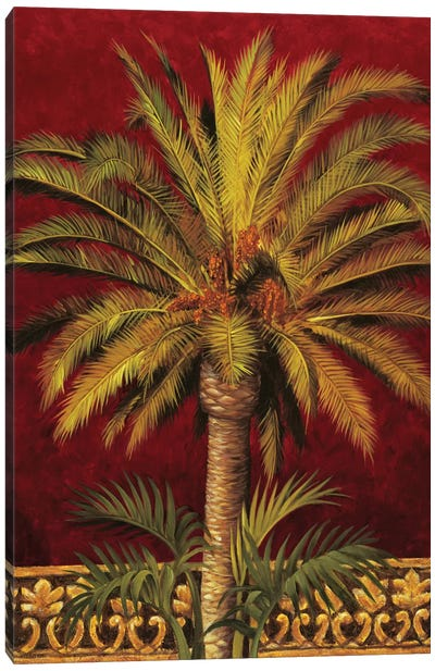 Canary Palm Canvas Art Print