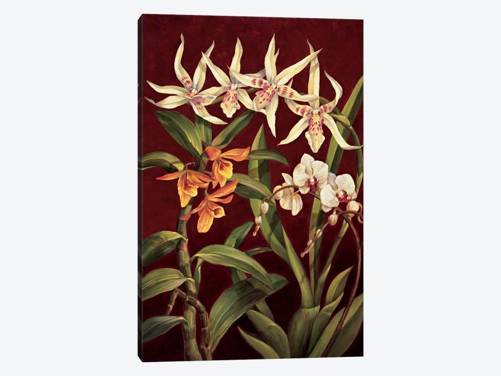 Orchid Trio I by Rodolfo Jimenez 1-piece Canvas Art