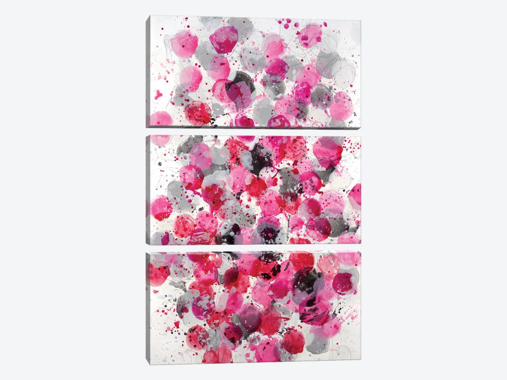 Bouquet by Jeff Iorillo 3-piece Canvas Wall Art