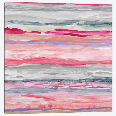 Pink Degrees Canvas Print #JIO7} by Jeff Iorillo Canvas Wall Art