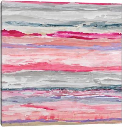 Pink Degrees Canvas Art Print