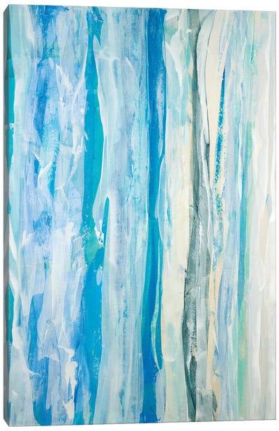 Swimming Ashore Canvas Art Print