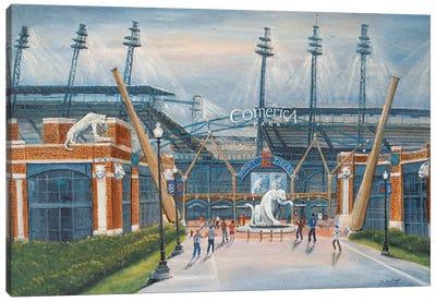 Comerica Park, Harwell Gate Canvas Art Print