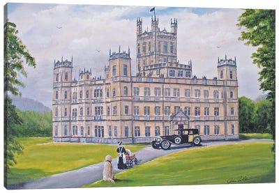 Downton Abbey Canvas Art Print