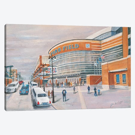 Ford Field Canvas Print #JIW14} by Jim Williams Canvas Print
