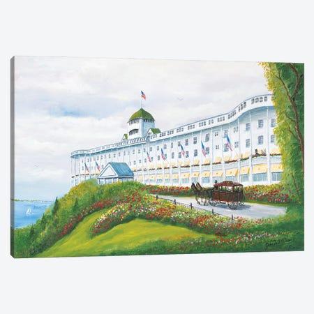 Grand Hotel Canvas Print #JIW15} by Jim Williams Canvas Art Print