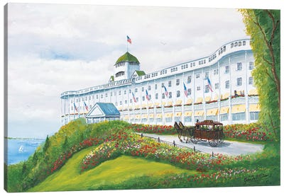 Grand Hotel Canvas Art Print