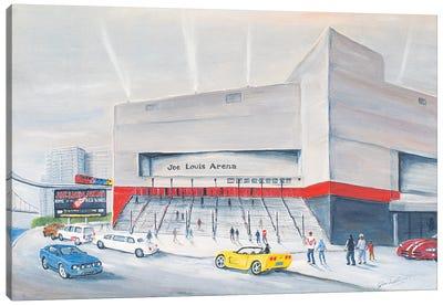 Joe Louis Arena Canvas Art Print