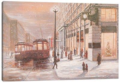 Marshall Fields, A Bygone Era Canvas Art Print
