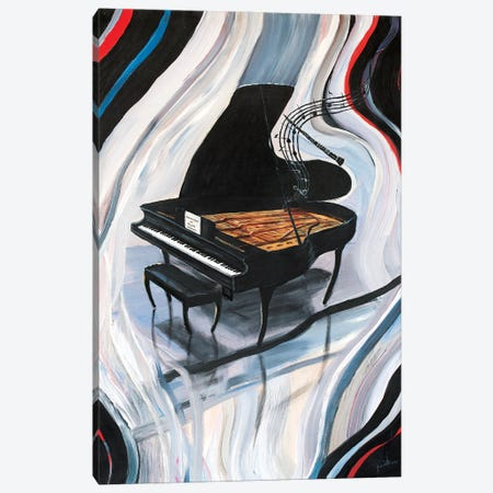 Rhapsody In Blue Canvas Print #JIW26} by Jim Williams Canvas Art