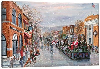 Rochester Christmas Parade Canvas Art Print