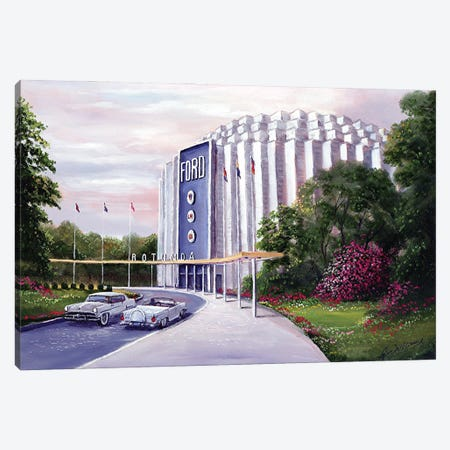 Rotunda Canvas Print #JIW30} by Jim Williams Canvas Artwork