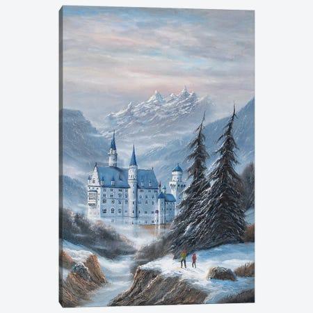 Schloss Neuschwanstein Canvas Print #JIW31} by Jim Williams Canvas Artwork