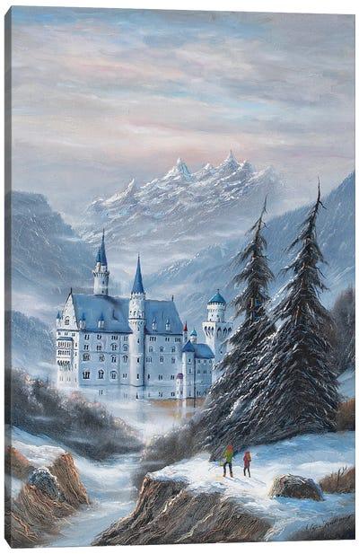 Schloss Neuschwanstein Canvas Art Print