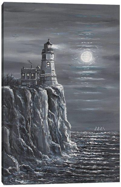 Split Rock Lighthouse Canvas Art Print
