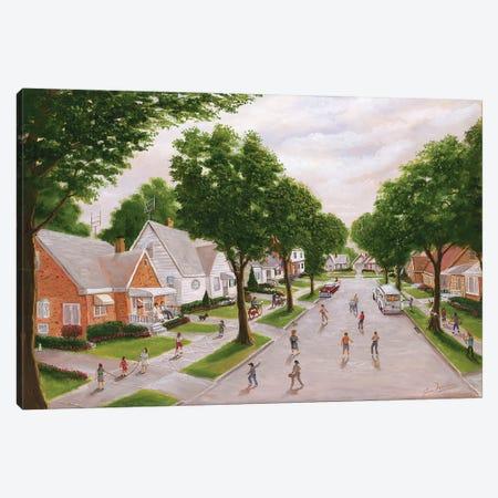 The Old Neighborhood Canvas Print #JIW34} by Jim Williams Canvas Print