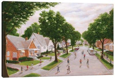 The Old Neighborhood Canvas Art Print