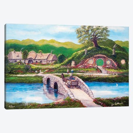 The Shire Canvas Print #JIW36} by Jim Williams Art Print