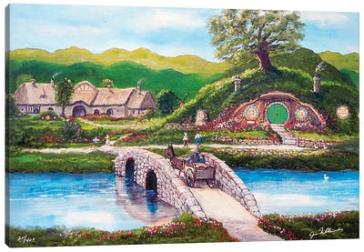 The Shire Canvas Art Print