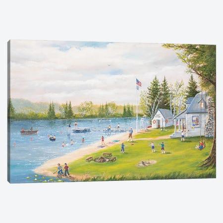 Camp Runamuck Canvas Print #JIW5} by Jim Williams Canvas Art Print