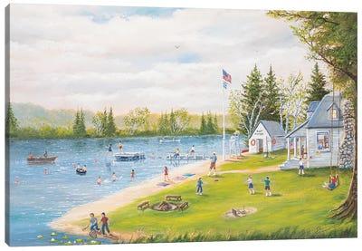 Camp Runamuck Canvas Art Print