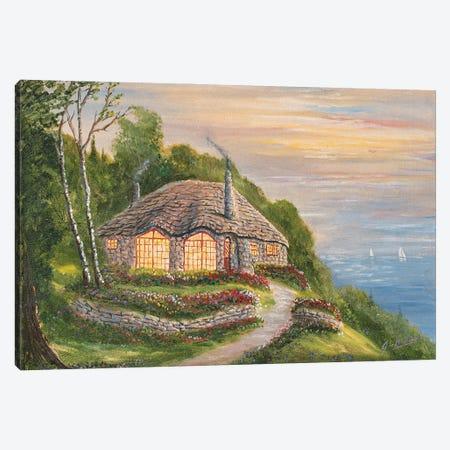 Charlevoix Cottage Canvas Print #JIW7} by Jim Williams Canvas Art Print