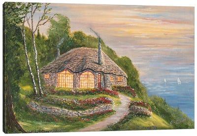 Charlevoix Cottage Canvas Art Print
