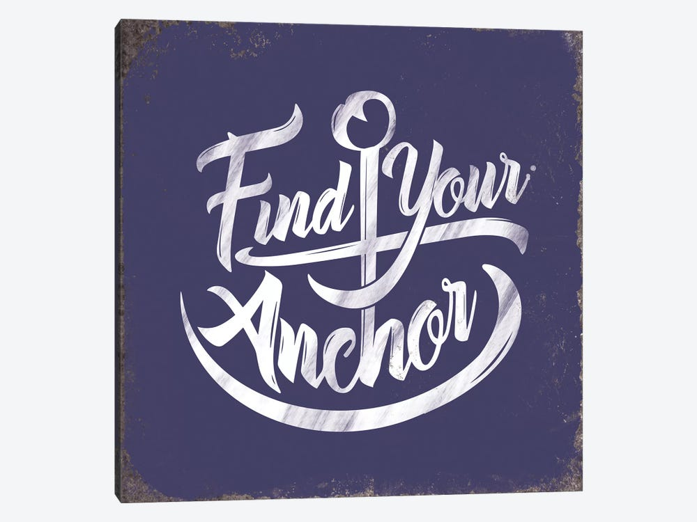 Find Anchor by JJ Brando 1-piece Canvas Artwork