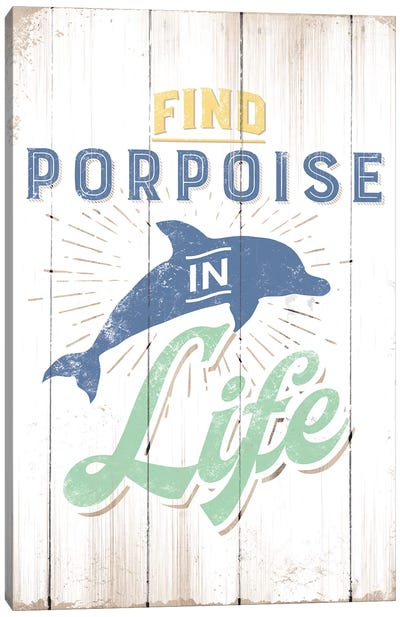 Find Porpoise Canvas Art Print