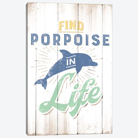 Find Porpoise Canvas Print #JJB22} by JJ Brando Canvas Art