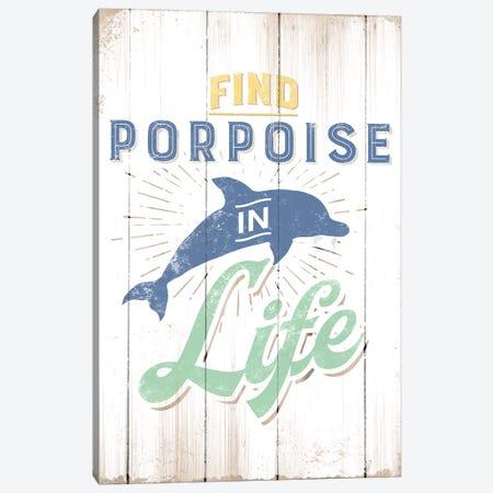 Find Porpoise Canvas Print #JJB22} by JJ Brando Canvas Art