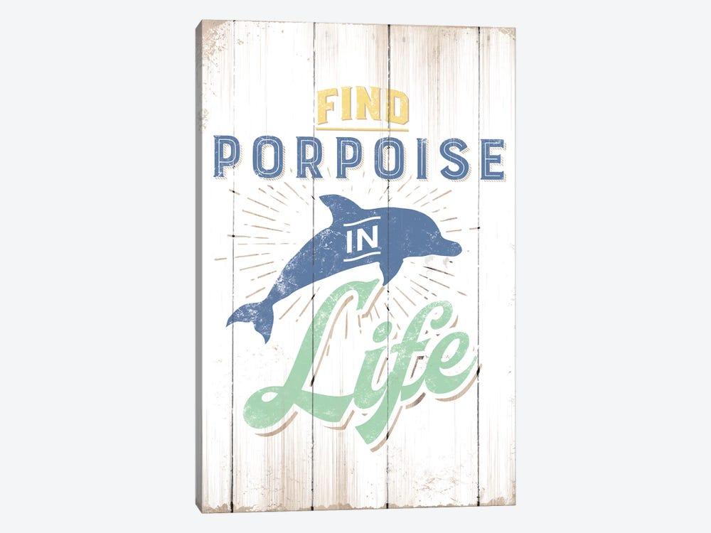 Find Porpoise by JJ Brando 1-piece Canvas Print
