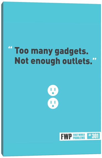 Gadgets Canvas Art Print