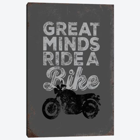 Great Minds Canvas Print #JJB26} by JJ Brando Art Print