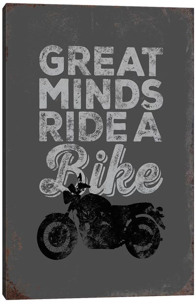 Great Minds Canvas Art Print