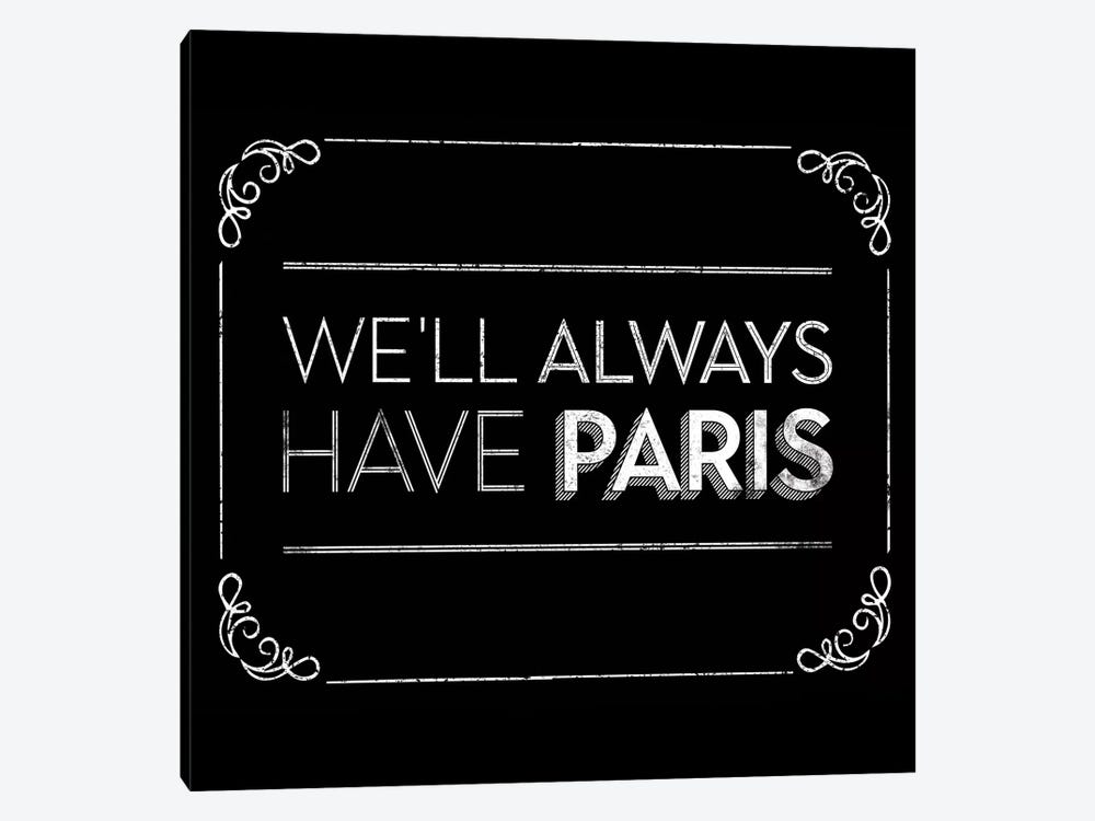 Have Paris by JJ Brando 1-piece Canvas Artwork