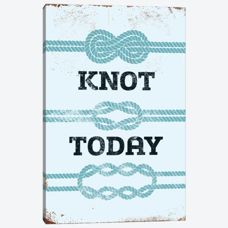 Knot Today Canvas Print #JJB34} by JJ Brando Canvas Wall Art