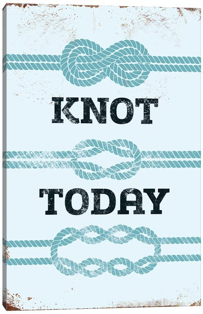 Knot Today Canvas Art Print